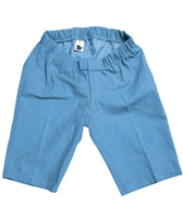 Custom Made Wheelchair Shorts - Denim - Adaptive Clothing
