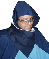 Protect your cape / poncho with this liquid absorbing scarf. Waterproof breathable top and super absorbent terry bottom. Set of 2 - Adaptive Wheelchair Clothing