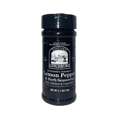 Historic Lynchburg Tennessee Whiskey Lemon Pepper & Herb Seasoning