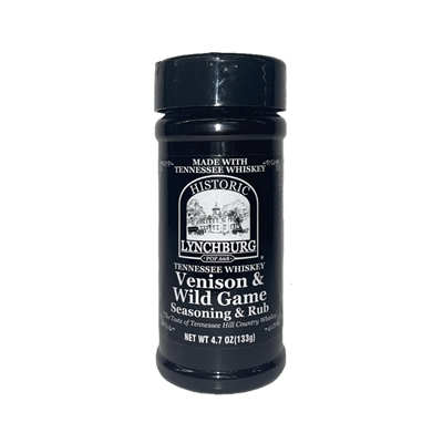 Historic Lynchburg Tennessee Whiskey Venison & Wild Game Seasoning