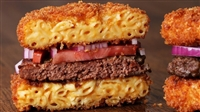 Historic Lynchburg Macaroni and Cheese Bun Burgers