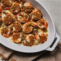 Historic Lynchburg Whiskey Bay Crispy Panko-Parmesan Baked Shrimp
