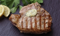 Lynchburg Grilled Pork Chops with Citrus Butter