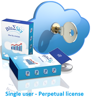 BlueSky Statistics Commercial Edition - 1 User, Perpetual