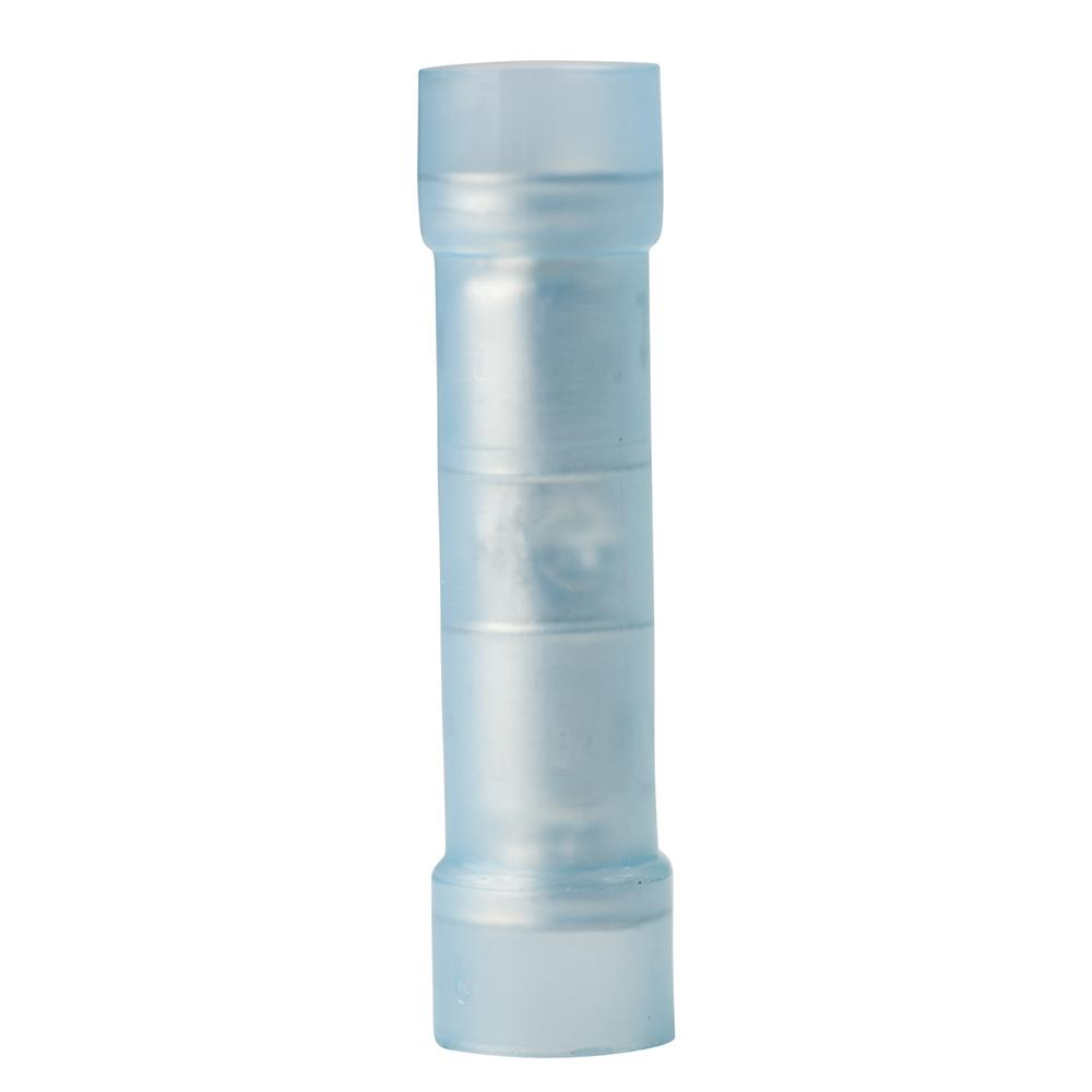 16-14 Guage Nylon Insulated Butt Connector Electrical Crimp Terminal 100