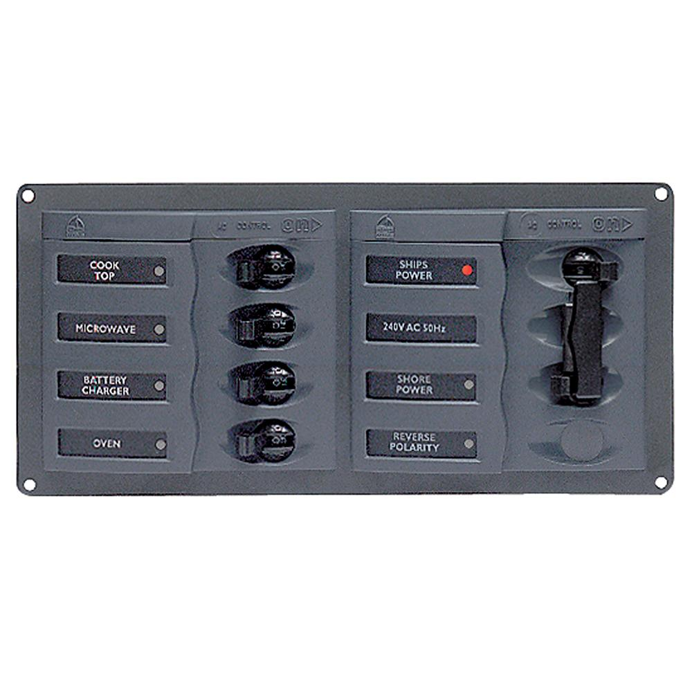 Bep Ac Circuit Breaker Panel W O Meters 4 Way 2 Mains 110v Switch Circuits