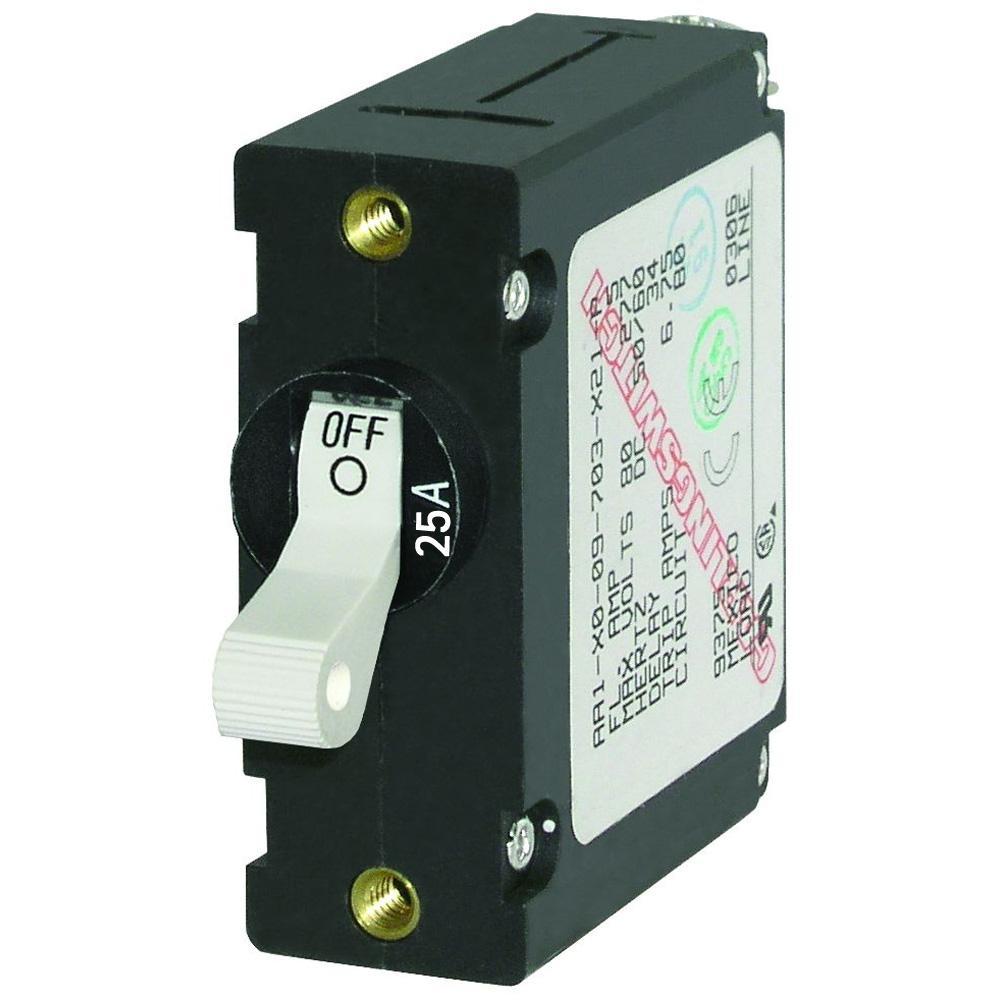 25 Amp Circuit Breaker Single Pole - Complete Wiring Diagrams •