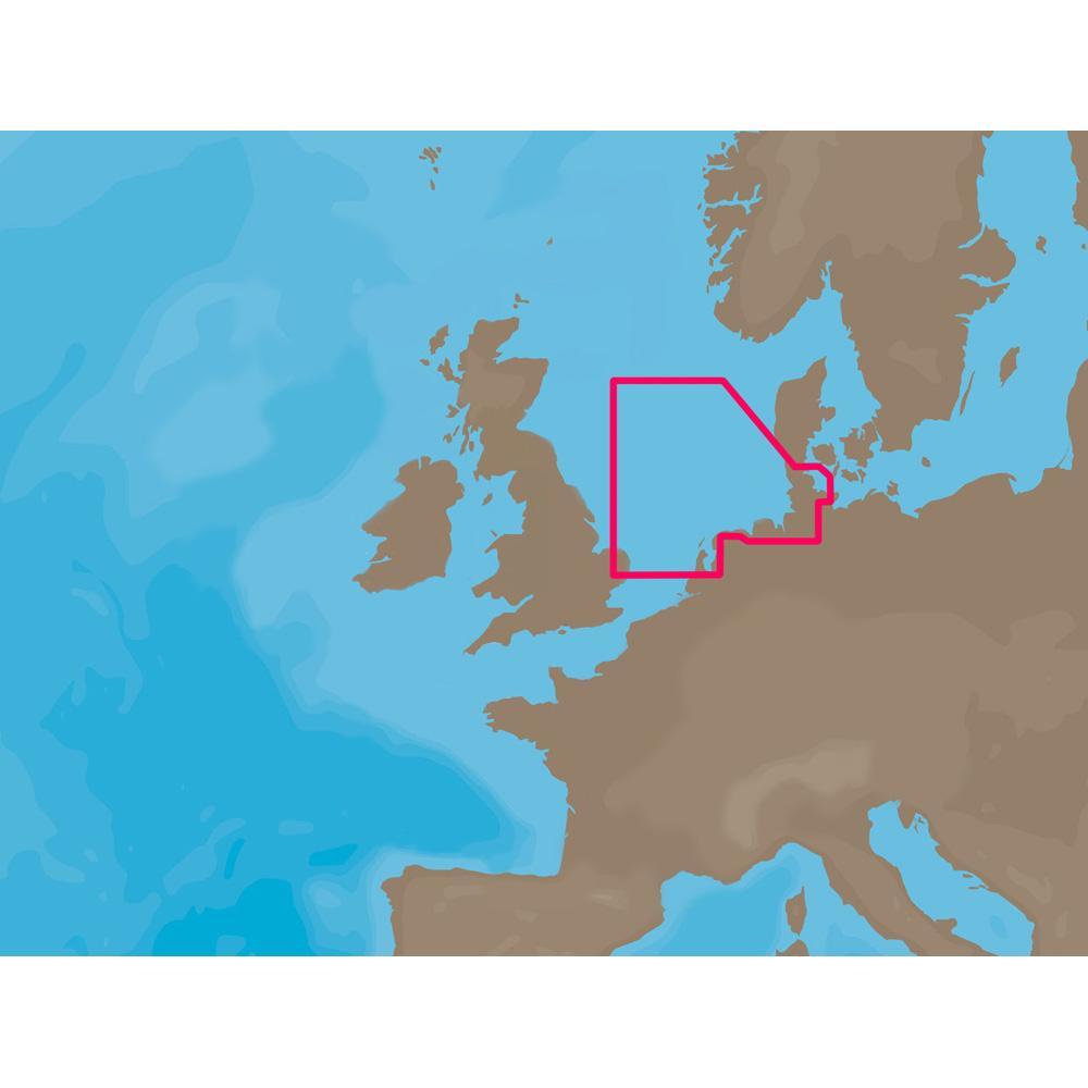 C-MAP NT+ EN-C0731 - Ijmuiden Esbjerg - C-Card