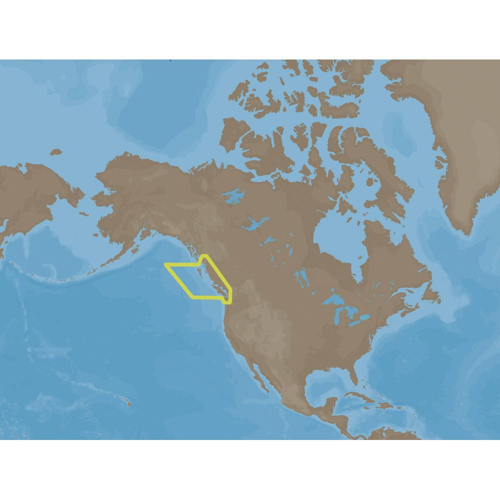 West Of Canada Map.C Map Max Na M025 Canada West C Card