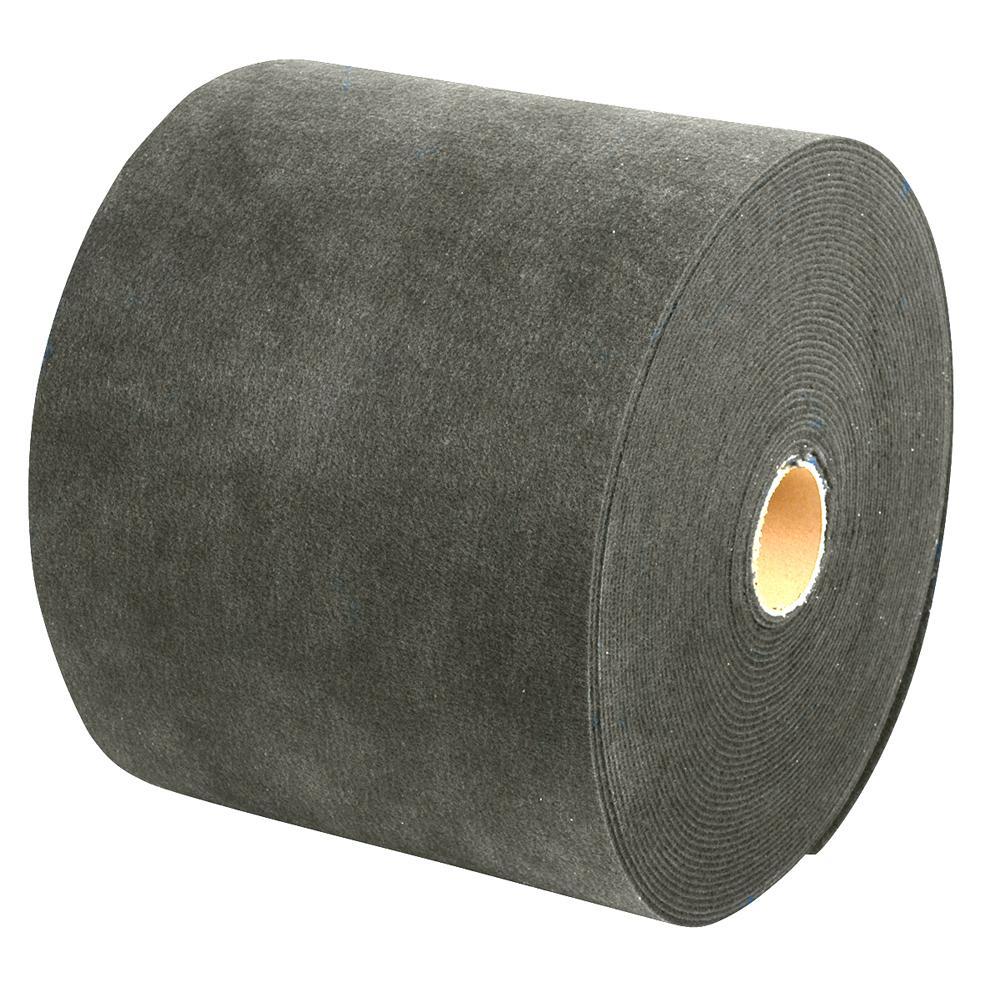 """18/""""W x 18/'L Smith Carpet Roll Grey C.E"""