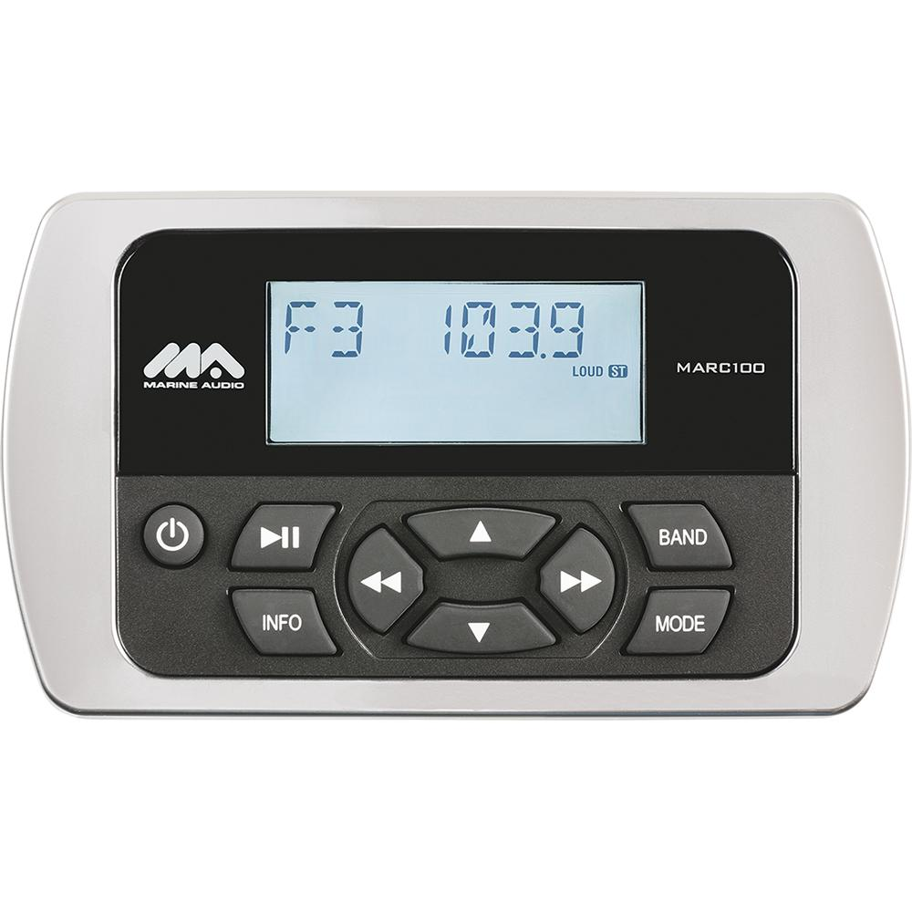 Marine Audio Wired Remote f/MA200 MS2ARTL Stereo - Waterproof