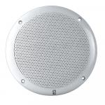 "Poly-Planar 4"" 2-Way Coax Integral Grill Marine Speaker - (Pair) White"