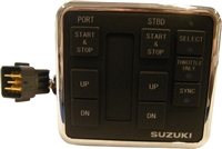 Suzuki SUZ-37100-98J21 Dual Engine Control Panel