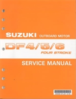 Suzuki SUZ-99500-91J04-01E DF4/5/6 Service Manual