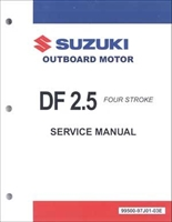 Suzuki SUZ-99500-97J01-03E DF2.5 Service Manual