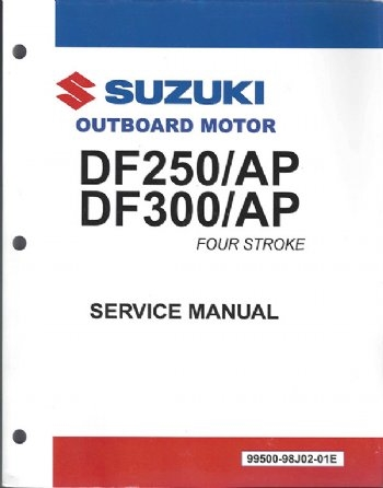 suzuki suz 99500 98j02 03e df250ap df300 df300ap service manual rh internationalmarineservice com Suzuki Outboard Parts Suzuki 9.9 Outboard Cowling