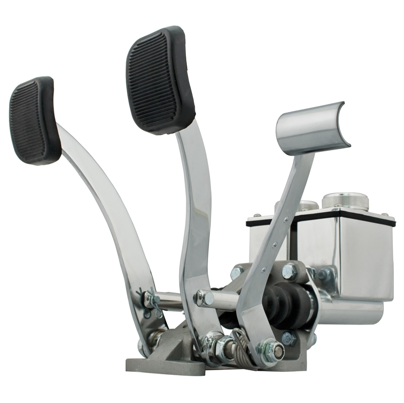 Empi 16-2531 Dune Buggy Dual Pedal Assembly W/Throttle, 3/4