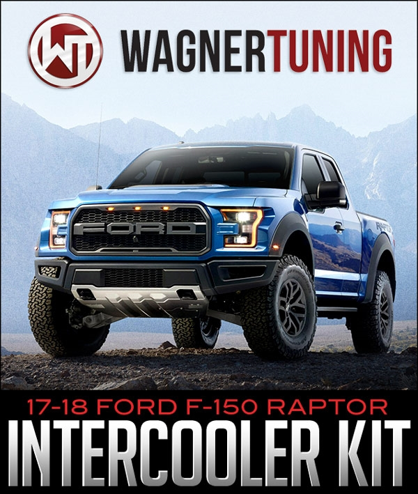 WAGNER TUNING COMPETITION INTERCOOLER KIT: 2017-2018 FORD F-150 RAPTOR