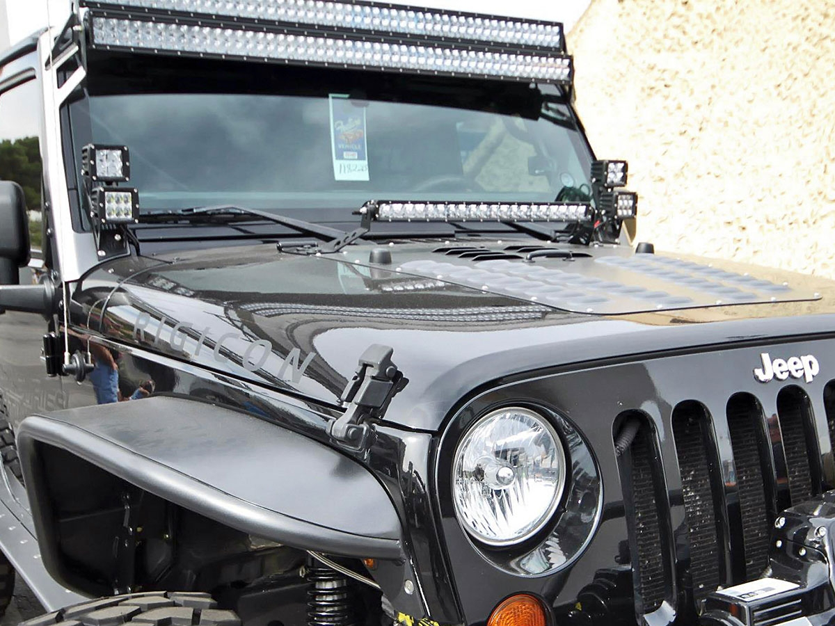 Jeep Jk Dual D Series A Pillar Mount Kit