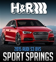 H&R 2015+ Audi S3 Typ 8VS Super Sport Spring 12