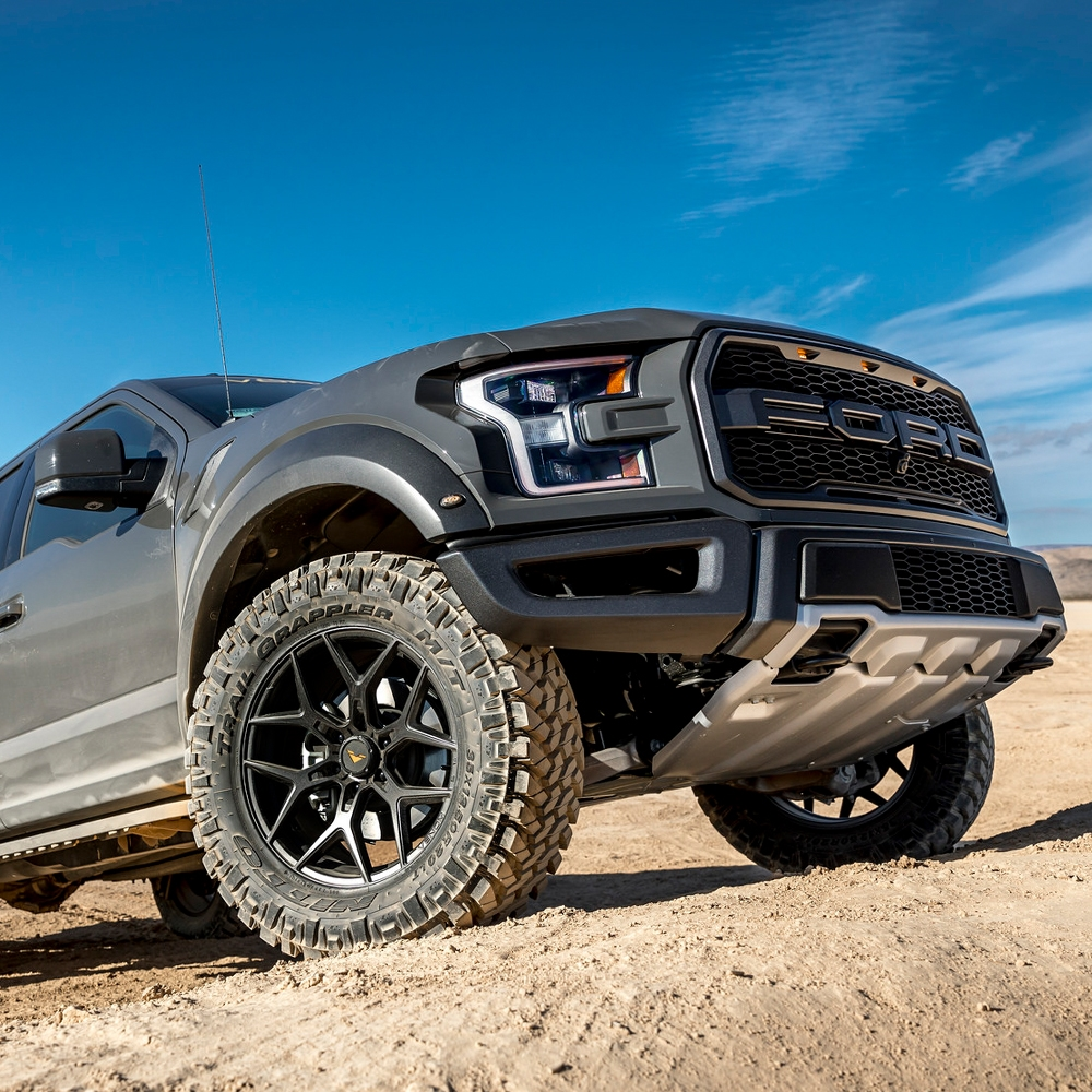 Ford F150 Wheels >> Vorsteiner Venom Rex 601 Vr 601 Mystic Black Wheels For Ford F150 Svt Raptor