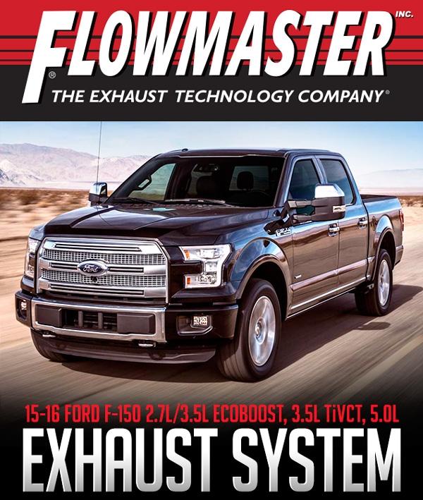 Flowmaster 817725 2015 2016 Ford F 150 2 7l 3 5l 5 0l 2 5 Cat