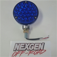 TAIL LIGHT BLUE LED PEDESTAL MOUNT