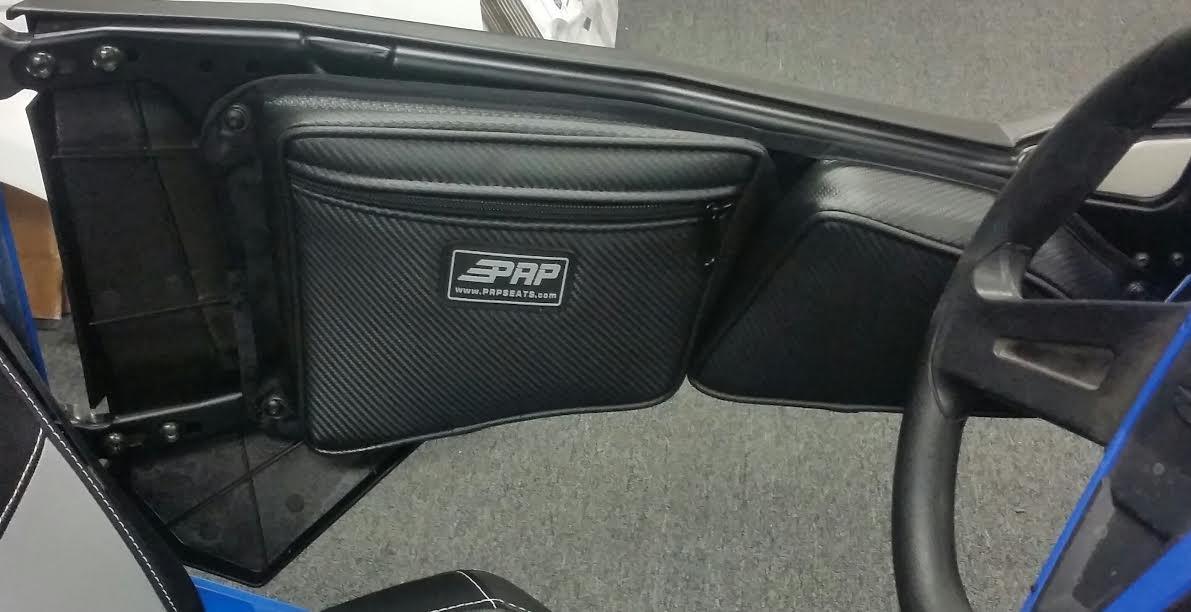 Prp Seats Door Bags 2017 Polaris Rzr 1000 Xp4 And 900 Black Blue Piping Pair