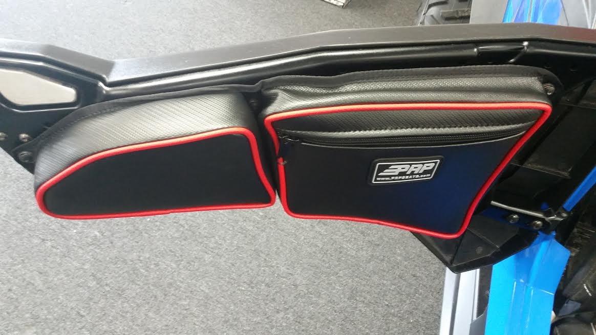 Prp Seats Door Bags 2017 Polaris Rzr 1000 Xp4 Xpt And 900 Red Pair