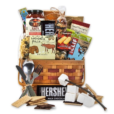 Camping Snack Time Basket