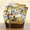 Ultimate White Christmas Gift Basket