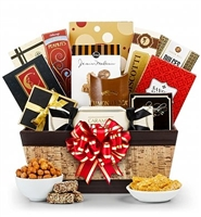 Sophisticated Snack Gift Basket