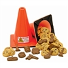 Traffic Cone of Cookies & Chocolates