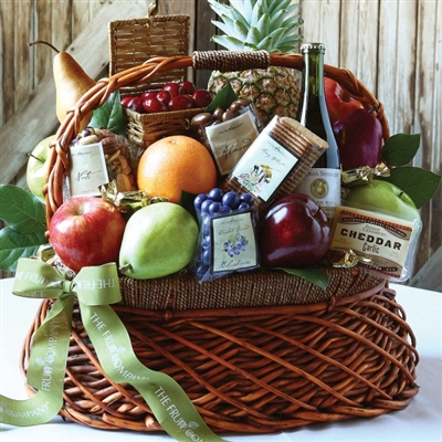 Harvest Basket of Fruits and More
