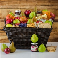 Ultimate Fruit & Cheese Gift Basket