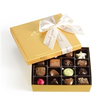 Thank You Godiva 19 pc Gold Ballotin