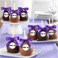 8 Gourmet Mini Apples with Logo