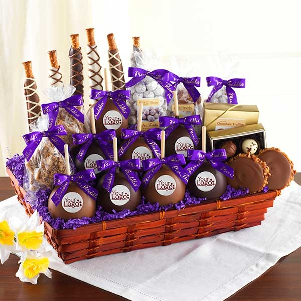 how to make chocolate gift basket at home