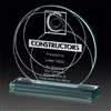 Glass Award with Custom Logo