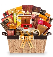Grand Snack Gift Basket