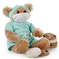 Dr Bear with Cookies