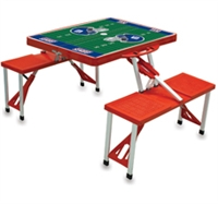 NFL and Collegiate Portable Folding Table