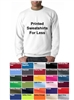 VALUE! Printed Sweatshirts 50/50 Blend