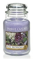 Yankee Candle Lilac Blossoms Classic 22 oz Jar