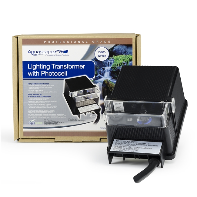 Aquascape Garden and Pond 150-Watt Transformer with Photocell