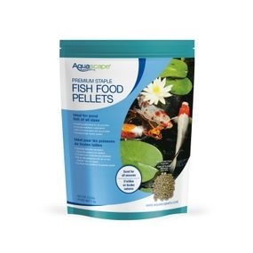 Aquascape Premium Staple Pond Fish Food 2.2lbs - Mixed Pellets