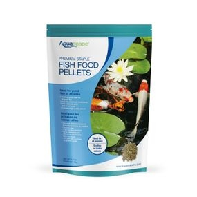 Aquascape Premium Staple Pond Fish Food 4.4lbs - Mixed Pellets