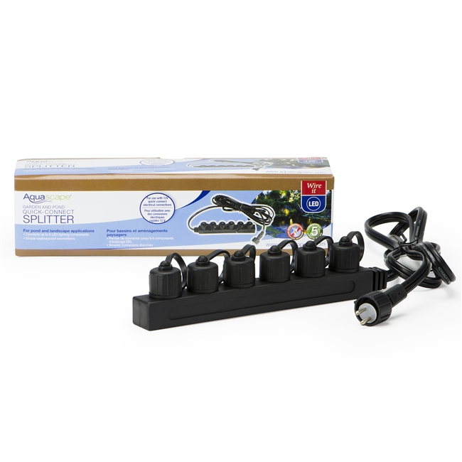 Garden and Pond 6-Way Quick-Connect Splitter Aquascape