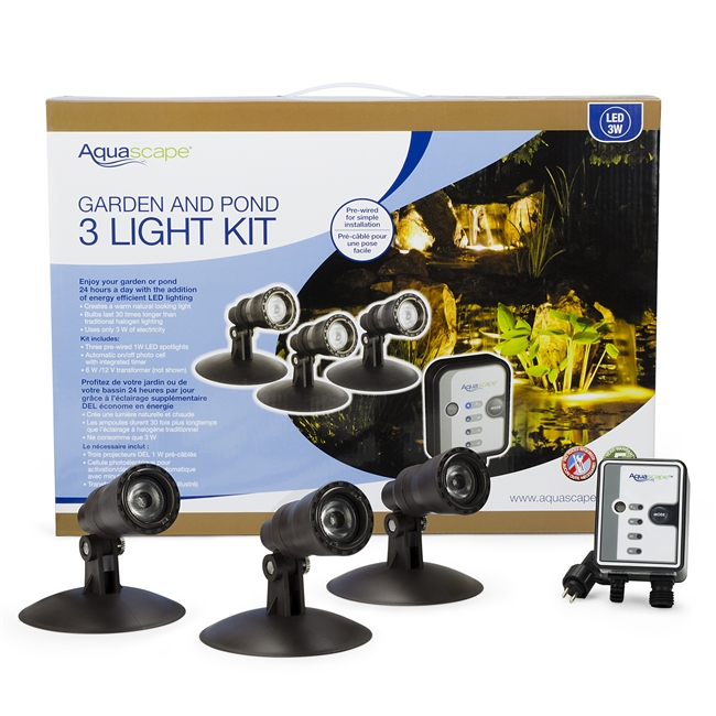 koi Pond underwater Spotlight Kit Aquascape
