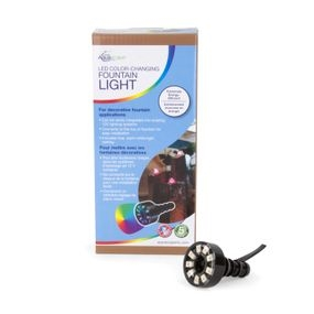 LED Color-Changing Fountain Light